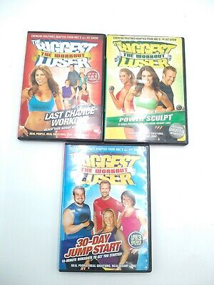 The Biggest Loser Workout DVD Lot Of (3) • 7.09£