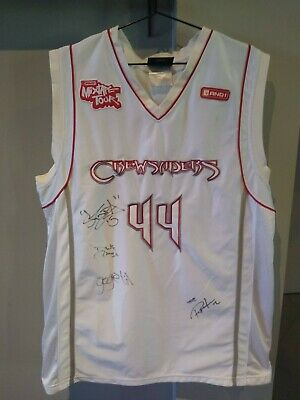AU60 • Buy Signed Basketball Jersey - AND 1 Tour 2008 - Professor, Spida, Gogetit