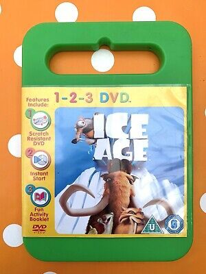 Ice Age 1-2-3 DVD Kids + Free UK Delivery • 2.79£