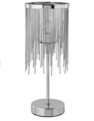 AU32.51 • Buy Argos Home Tammy Table Lamp Chainmail