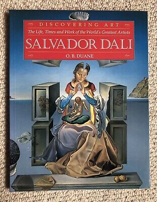 Salvador Dali Reference Book - Discovering Art The Life, Times & Work Like New • 1.50£