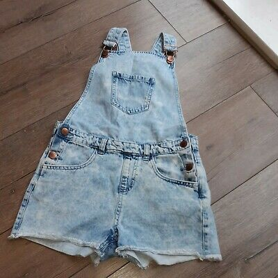 Girls Short Denim Dungarees Age 10-11 Years. PRIMARK • 2£