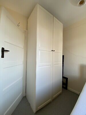 Pax Wardrobe With 2 Doors. Lot Of Storage And Drawers • 120£