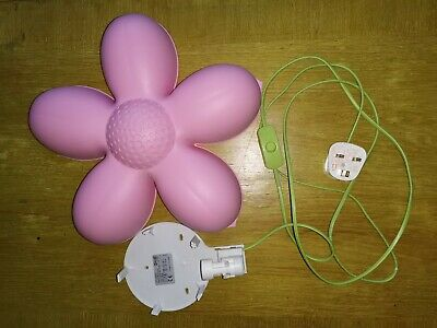 Ikea Pink Flower Light • 2.30£