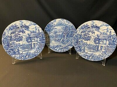 £20 • Buy A Collection Of 2  The Hunter  By Myott & 1  The Mill  Meakin Dinner Plates