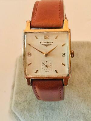 $ CDN284.02 • Buy Beautiful Vintage Men's Longines Wrist Watch With Great Honeycomb Texture Dial