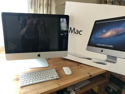 Apple IMac 21.5 Inch All-in-One Desktop In Original Box Keyboard Mouse May 2011 • 375£