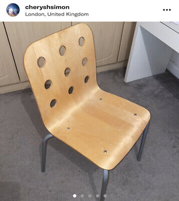 Wooden Office Chair • 50£