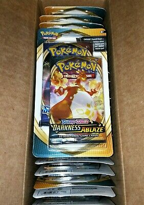 AU19.50 • Buy Pokemon TCG Darkness Ablaze + Sword And Shield 2-Pack Blister NEW Factory Sealed