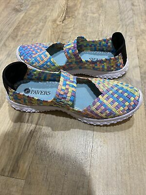 Pavers Slip On Strap Support Memory Foam Shoes 8 41  • 20£