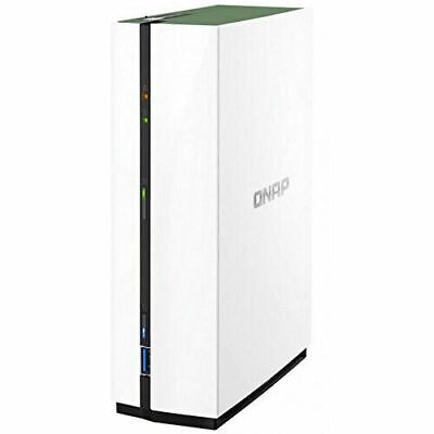 $ CDN161.72 • Buy QNAP NAS TS-128A, 1-Bay, 3.5  SATA3 Diskless, Home/SOHO, Tower, 4-Core CPU, GBLa