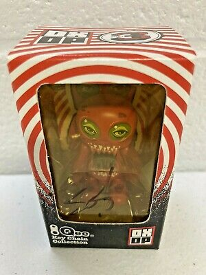 $34.99 • Buy QEE OX-OP Series 3 2.5  JEFF SOTO SIGNED Red Potato Stamp Toy2R NEW Bearbrick