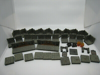 $ CDN340.55 • Buy Dwarven Forge PAINTED Den Of Evil Room & Door Insert Pieces D&D Dungeon Resin