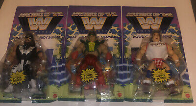 $34 • Buy Masters Of The WWE Universe Macho Man Roddy Piper Ricky Steamboat- Wave 5