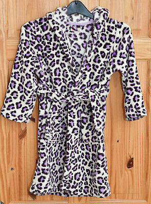 Blue Zoo Debenhams Animal Print Dressing Gown Aged 6-7 • 4.99£