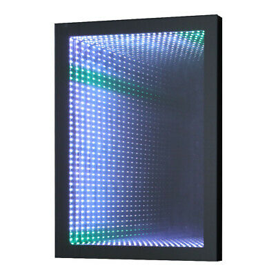 £145.95 • Buy 3D LED Light Up Tunnel Illusion Infinity Mirror Remote Control Lamp Bath Bedroom