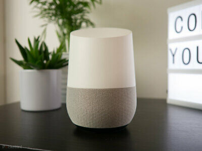 AU66.42 • Buy Google Home Nest Speaker Smart Assistant White