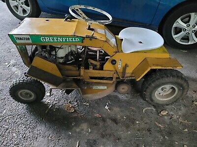 AU990 • Buy Greenfield Ride On Mower Mini Tractor M5 Collector Vintage Item 1970s