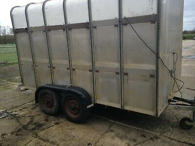 Ifor Williams Livestock Box / Trailer 12ft Cattle / Sheep • 702£