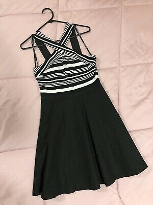 AU35 • Buy Forever New Size 10 - Black And White Dress - Great Quality