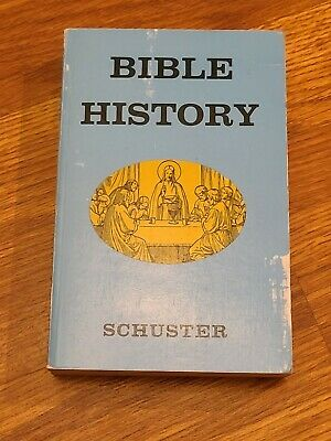 Illustrated Bible History Of The Old And New Testaments By Schuster 1959 PB BOOK • 9.21£