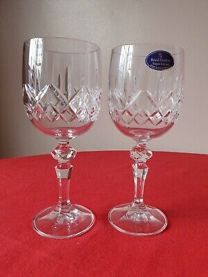 2 Royal Doulton Wine Glasses 7 Inches Tallx 3 Inches • 14.99£