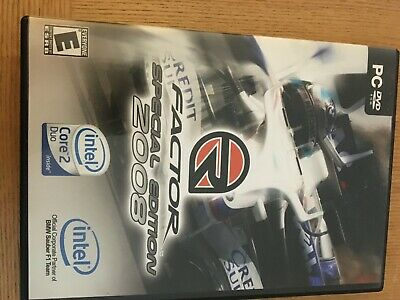 R Factor Special Edition 2008 PC Game Racing  DVD Rom RFACTor • 5.99£