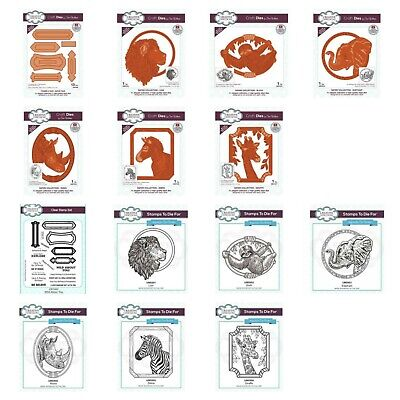 £9.90 • Buy Creative Expressions Sue Wilson Safari Collection Dies Or Stamp - MULTIBUY DISC
