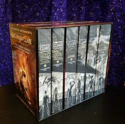 The Mortal Instruments Series By Cassandra Clare Complete Box Set Books 1 - 6 • 36.18£