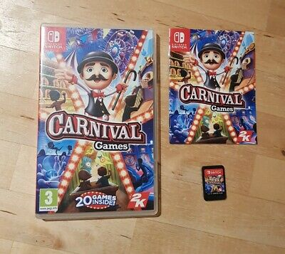 Nintendo Switch Game Carnival.  • 9.99£