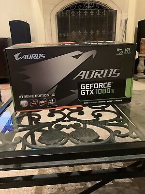 $ CDN1104.51 • Buy AORUS Gigabyte GeForce GTX 1080 Ti Xtreme Edition 11G excellent Condition 4k