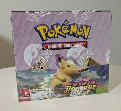 AU259.99 • Buy Pokemon Vivid Voltage Booster Box Factory Sealed 36 Packs IN STOCK AUS Seller
