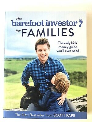 AU17.95 • Buy The Barefoot Investor For Families By Scott Pape Paperback 2018