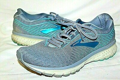 $ CDN31.64 • Buy Womens Brooks Ghost 12 Running Shoes Shimmery Blue & Gray Size 10 B