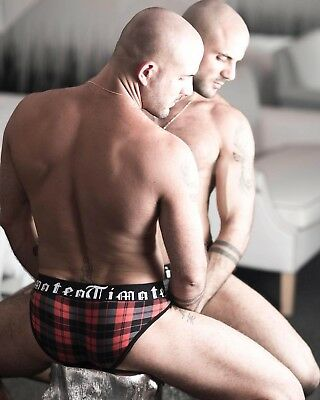 £47.75 • Buy (Limited Edition) Timoteo Men's Plaid Mesh Super Low Brief