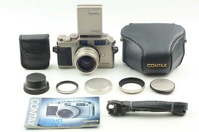 $ CDN1062.16 • Buy [Optical MINT]  Contax G1  Green Label  W/ 45mm F2 + TLA140 + Strap From JAPAN