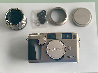 $ CDN1029.57 • Buy [Near Mint & Boxed] Contax G2 Cámara Body + Lens Carl Zeiss 45mm F2 Planar T