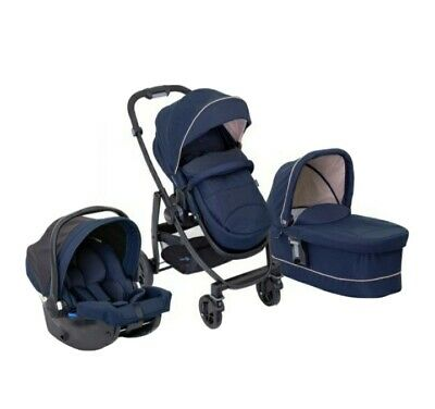 Graco Evo 3 In 1 Travel System Stroller.Pram.Car Seat  • 199.99£