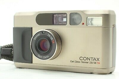 $ CDN1071.51 • Buy 【 EXC+++++ W/ STRAP 】 Contax T2 Point & Shoot 35mm Film Camera From JAPAN #2153