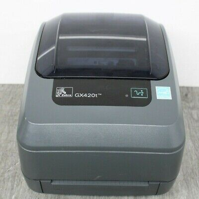 Zebra GX420T Thermal / Transfer Barcode Label Printer USB Serial Parallel READ • 109.99£