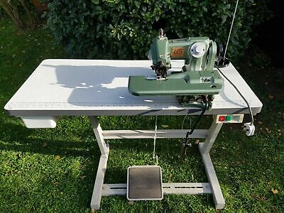 Union Special 718-2 Blind-stitcher Hemmer Hemming Sewing Machine And Table • 400£