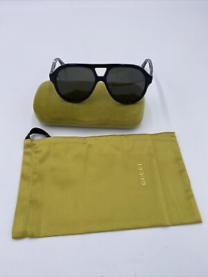 AU174.37 • Buy Mens Gucci Polarized Sunglasses With Bee Embelishments Made In Italy