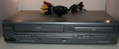 $ CDN43.98 • Buy Magnavox MWD2205 DVD VCR Combo AV Cables Parts Or Repair Only Sold AS IS