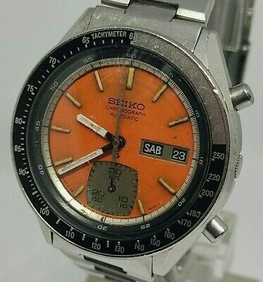 $ CDN289.85 • Buy Seiko Chronograph 6139 6100 Automatic Watch Tachymeter Vintage Day Date