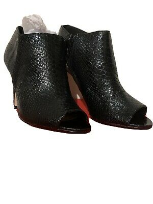 £9 • Buy London Rebel Boots With Peep Toe, Brand New With Box, Black Size 5