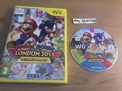 Mario & Sonic At The London 2012 Olympic Games, Nintendo Wii • 9.79£