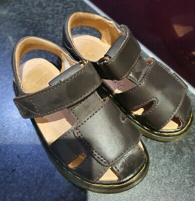 Toddler DR MARTENS Sandals Size 7 Brown Leather • 10£
