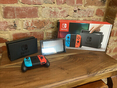 AU296 • Buy Nintendo Switch 32GB Neon Blue/Neon Red Console