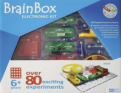 AU36.95 • Buy BrainBox - Electronic Kit - Over 80 Exciting Experiments