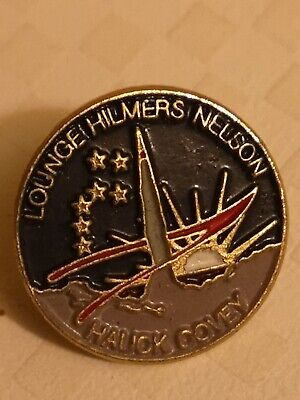 NASA Space Shuttle Astronaut Mission Patch STS Pin Badge  • 2.50£